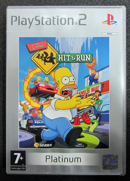 The Simpsons: Hit & Run PS2