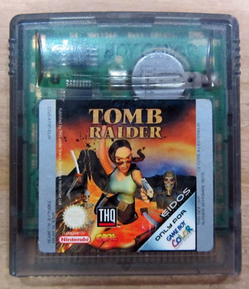 Tomb Raider GAME BOY COLOR