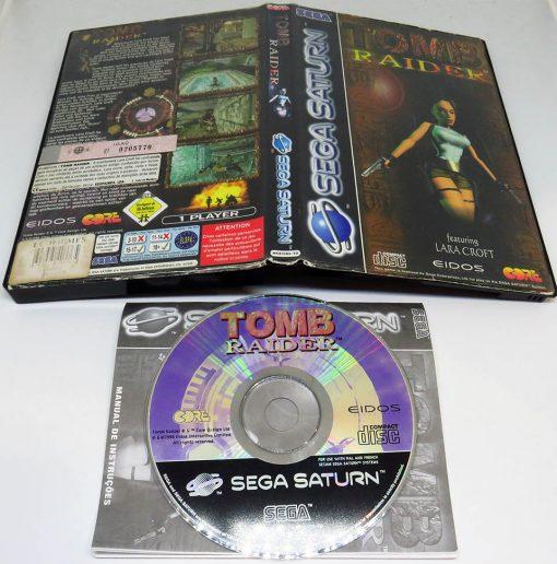 Tomb Raider SEGA SATURN