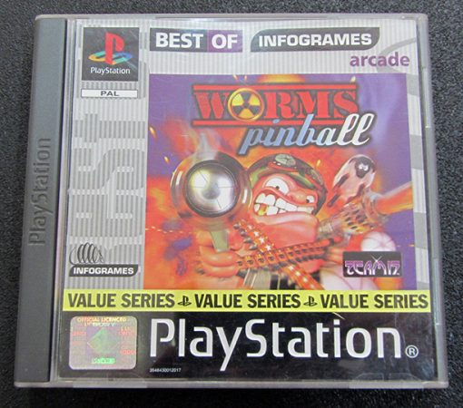 Worms Pinball PS1