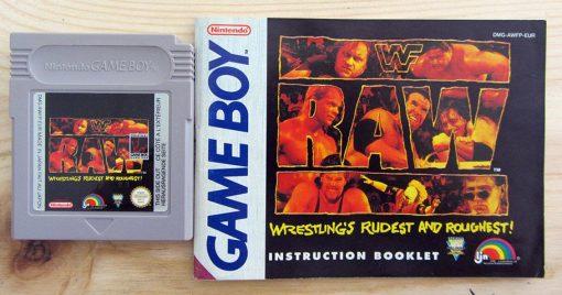 WWF Raw GAME BOY