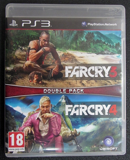 Far Cry 3 + Far Cry 4 Double Pack PS3