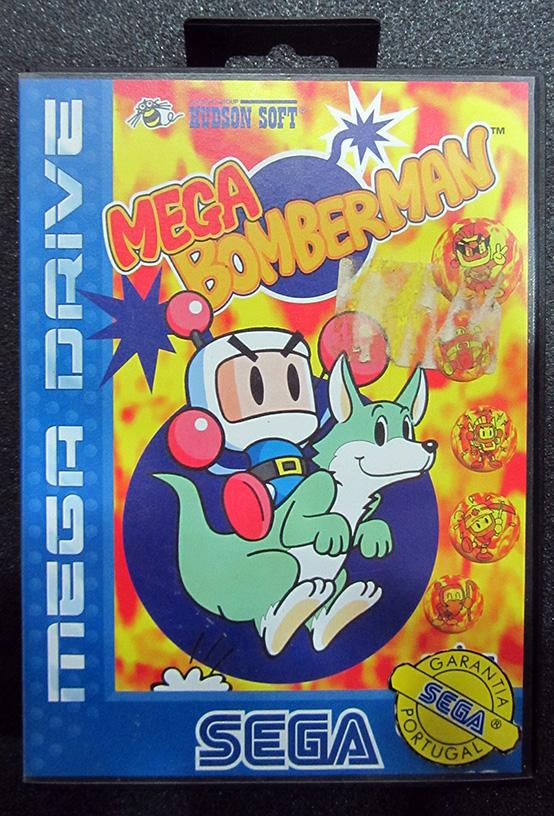 Mega Bomberman MEGA DRIVE