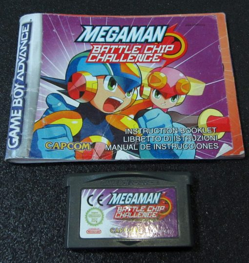 Megaman: Battle Chip Challenge GAME BOY ADVANCE