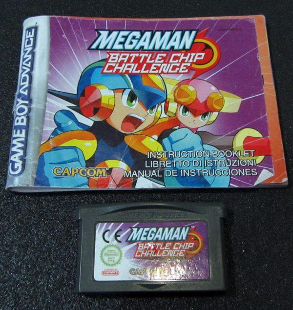 Megaman: Battle Chip Challenge GAME BOY ADVANCE