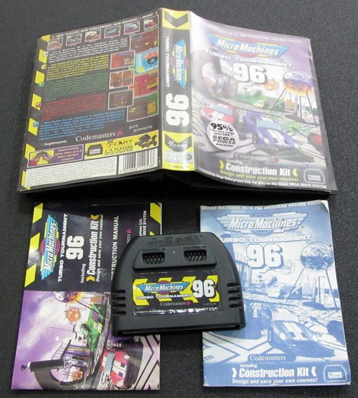 Micro Machines 96: Turbo Tournament MEGA DRIVE