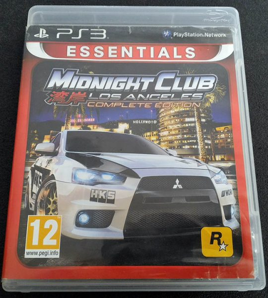 Midnight Club: Los Angeles - Complete Edition PS3