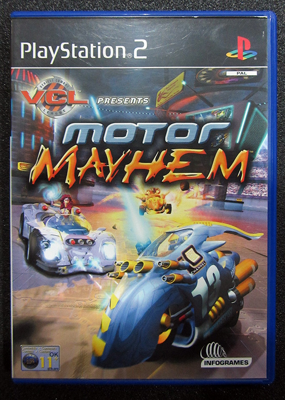 Motor Mayhem PS2