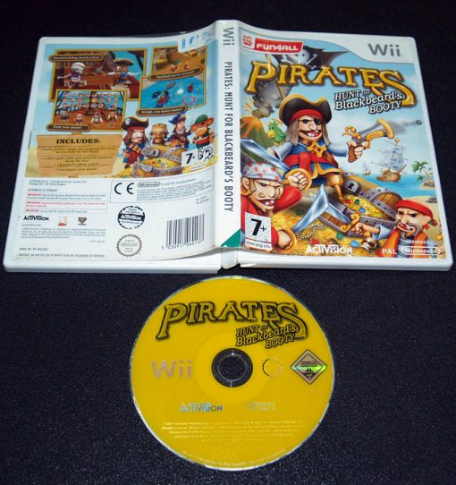 Pirates: Hunt for Blackbeard's Booty WII