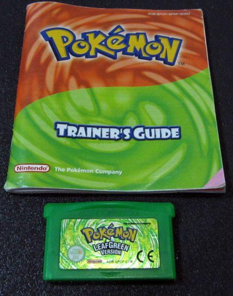 Pokémon: Leaf Green GAME BOY ADVANCE