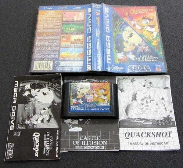 Quackshot & Castle of Illusion – The Disney Collection MEGA DRIVE
