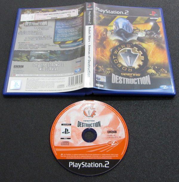 Robot Wars: Arenas of Destruction PS2