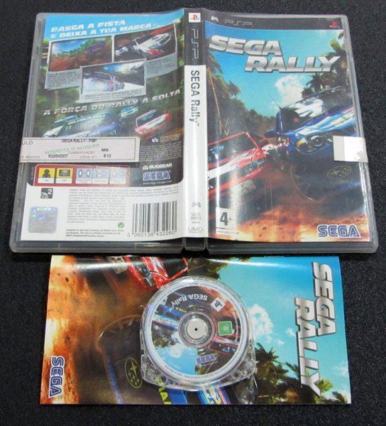Sega Rally PSP