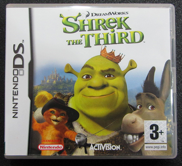 Shrek The Third NDS