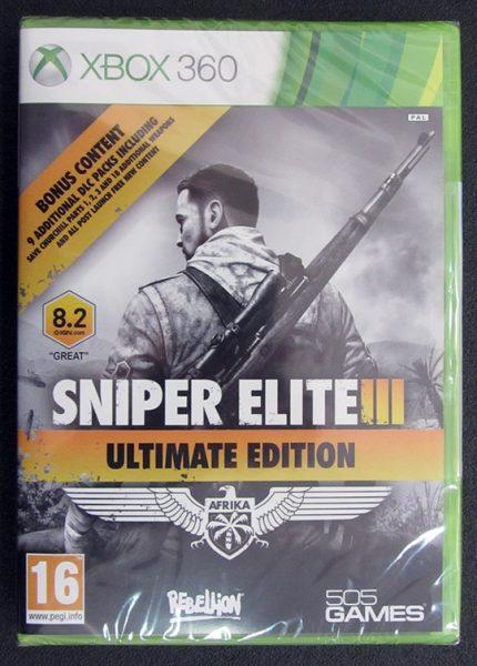 Sniper Elite 3 - Ultimate Edition X360