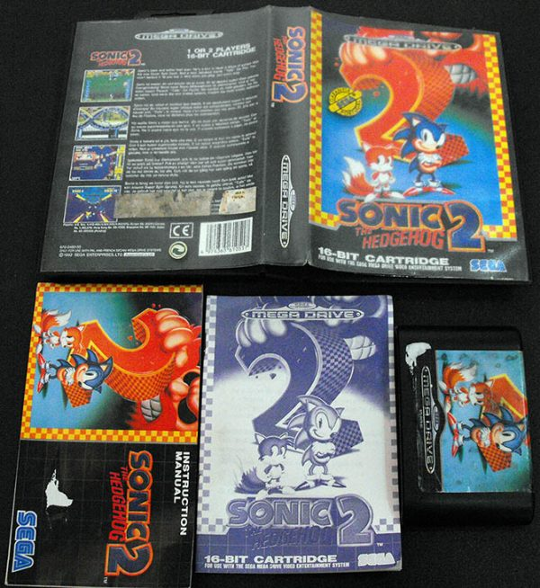 Sonic The Hedgehog 2 MEGA DRIVE