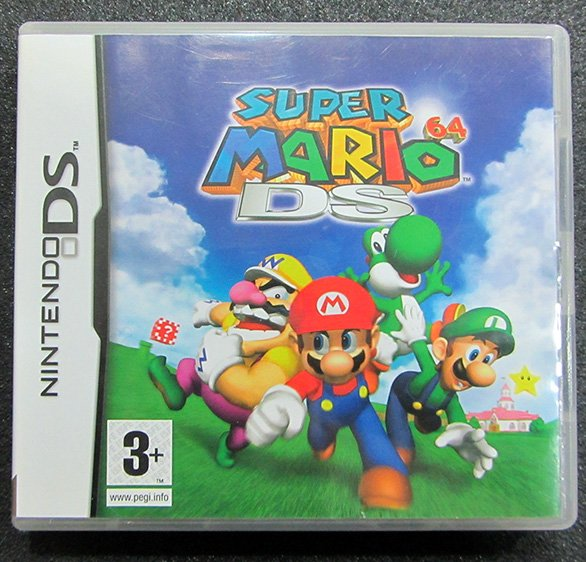 Super Mario 64 DS NDS