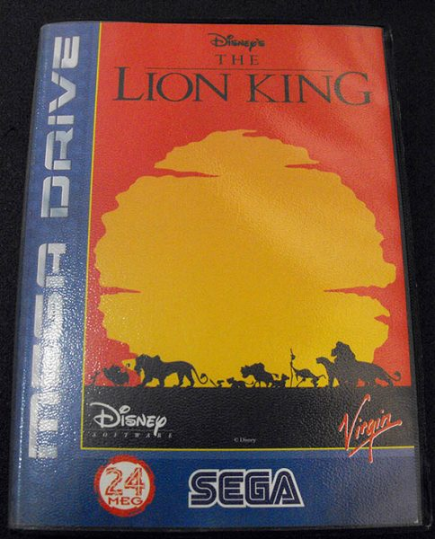 The Lion King MEGA DRIVE
