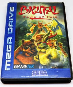Brutal: Paws of Fury MEGA DRIVE