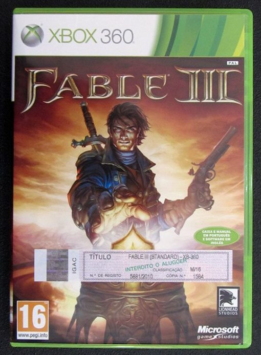 Fable III X360