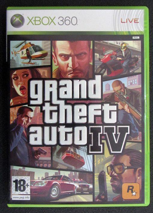 Grand Theft Auto IV X360