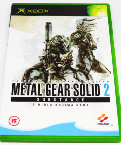 Metal Gear Solid 2: Substance XBOX