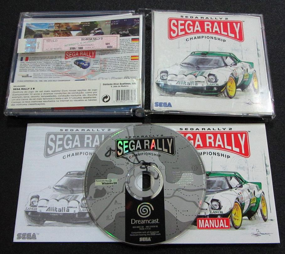 Home retrogaming dreamcast sega rally 2 dreamcast seminovo
