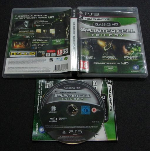 Splinter Cell Trilogy PS3