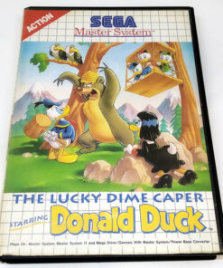 The Lucky Dime Caper - Starring Donald Duck MASTER SYSTEM