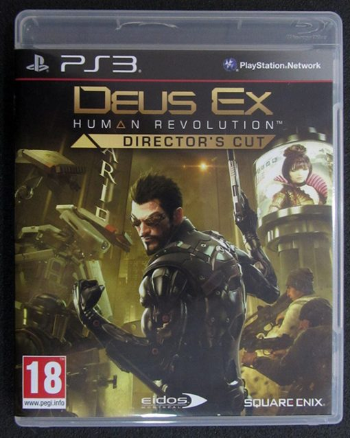 Deus Ex: Human Revolution - Director's Cut PS3
