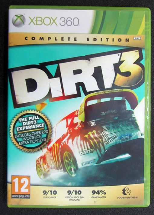 Dirt 3 - Complete Edition X360