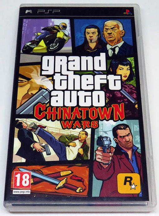 Grand Theft Auto: Chinatown Wars PSP