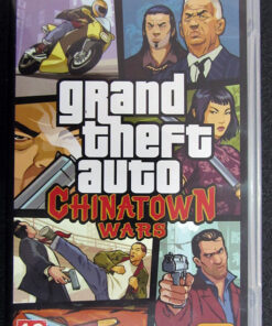 Grand Theft Auto: Chinatown Wars PSP