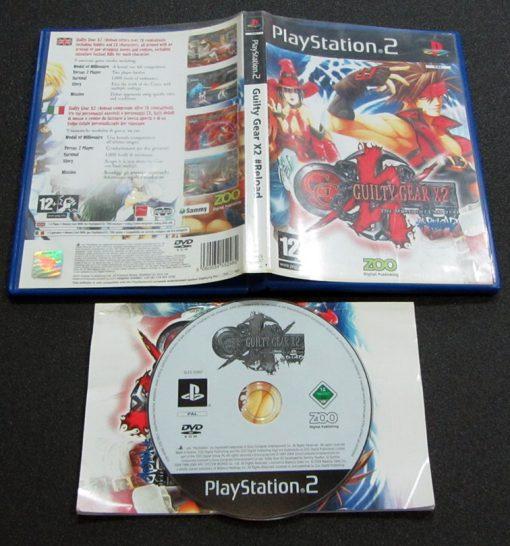 Guilty Gear X2 #Reload PS2