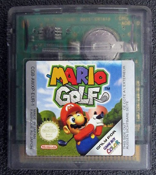 Mario Golf GAME BOY COLOR
