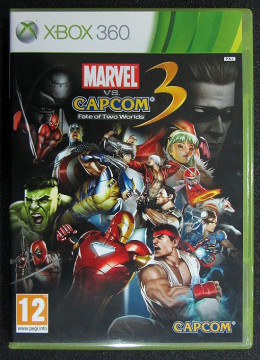 Marvel vs Capcom 3: Fate of Two Worlds X360