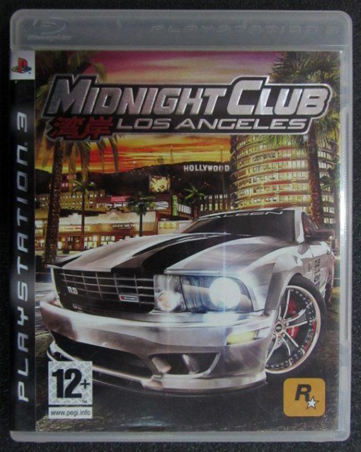 Midnight Club: Los Angeles PS3
