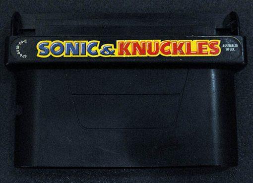 Sonic & Knuckles CART MEGA DRIVE