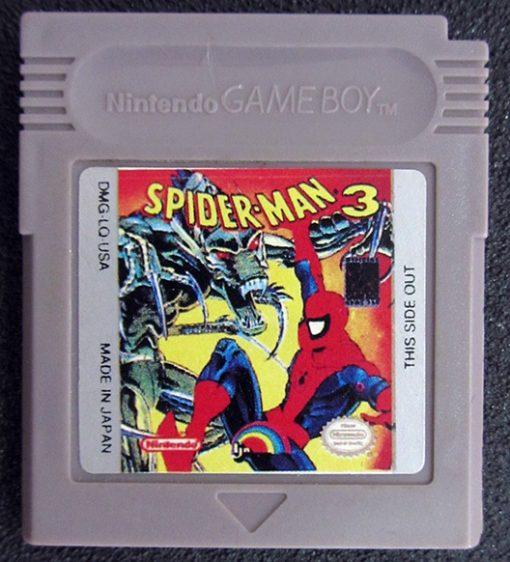 Spider-Man 3 GAME BOY