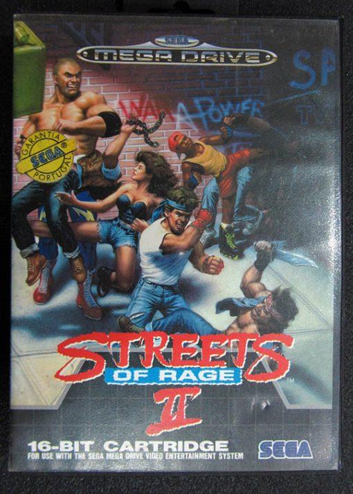 Streets of Rage II MEGA DRIVE