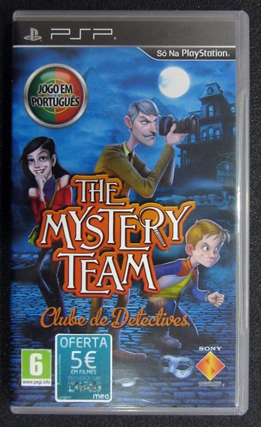 The Mystery Team: Clube de Detectives PSP