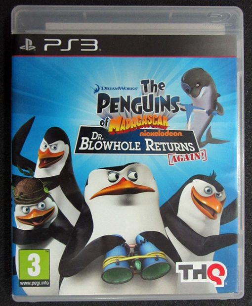 The Penguins of Madagascar PS3