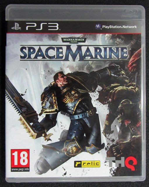 Warhammer 40000: Space Marine PS3