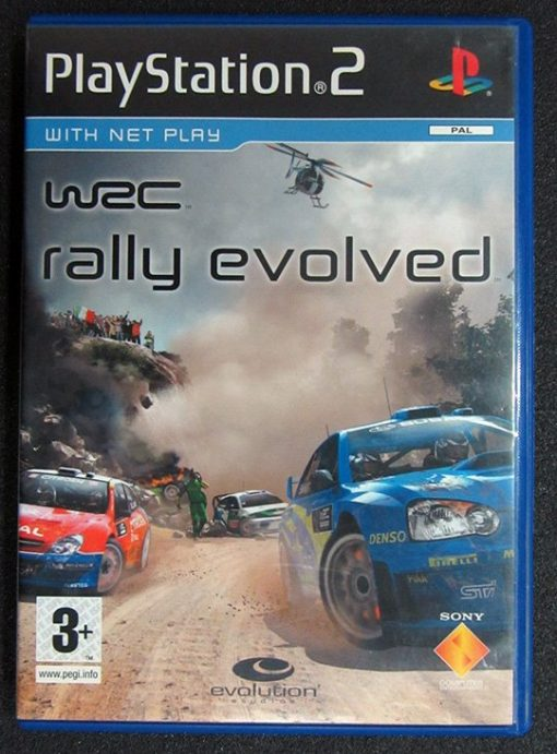 WRC Rally Evolved PS2