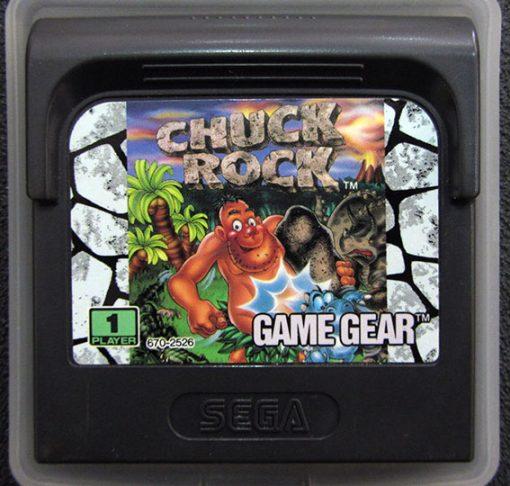 Chuck Rock GAME GEAR