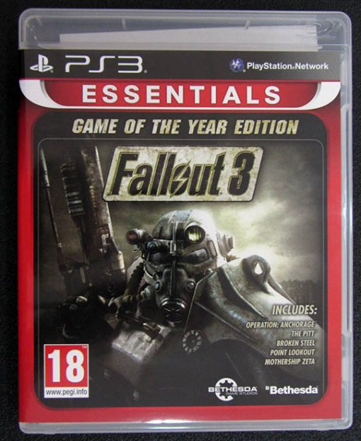 Fallout 3 - Game of the Year Edition PS3