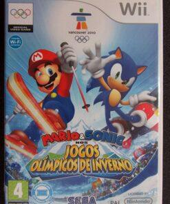 Mario & Sonic nos Jogos Olímpicos de Inverno WII