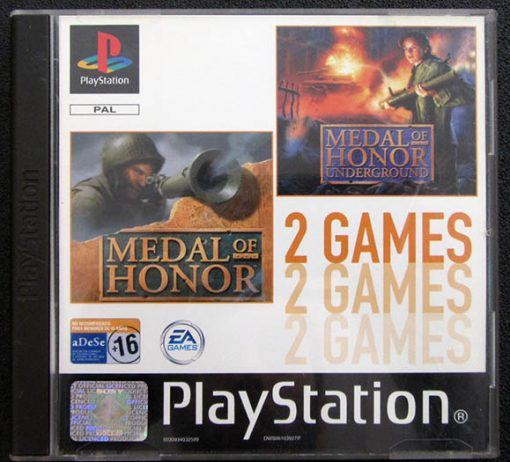 Medal of Honor + Medal of Honor: Underground PS1