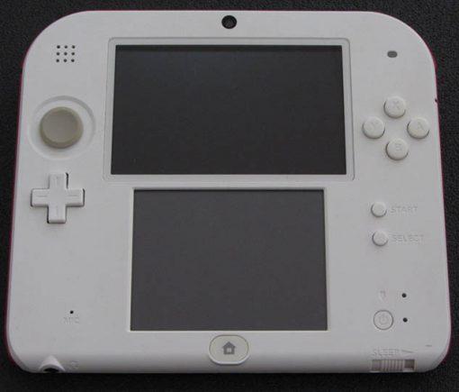 Consola Usada Nintendo 2DS Branca/Vermelha + New Super Mario Bros. 2