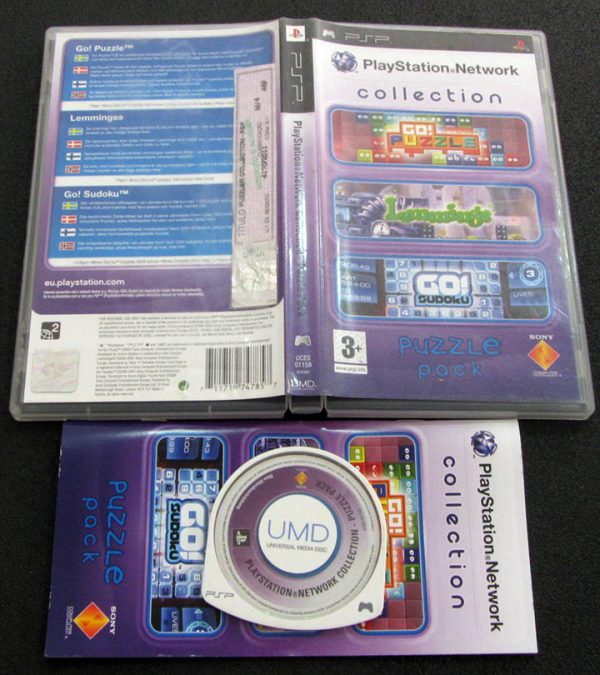 Playstation Network Collection: Puzzle Pack PSP